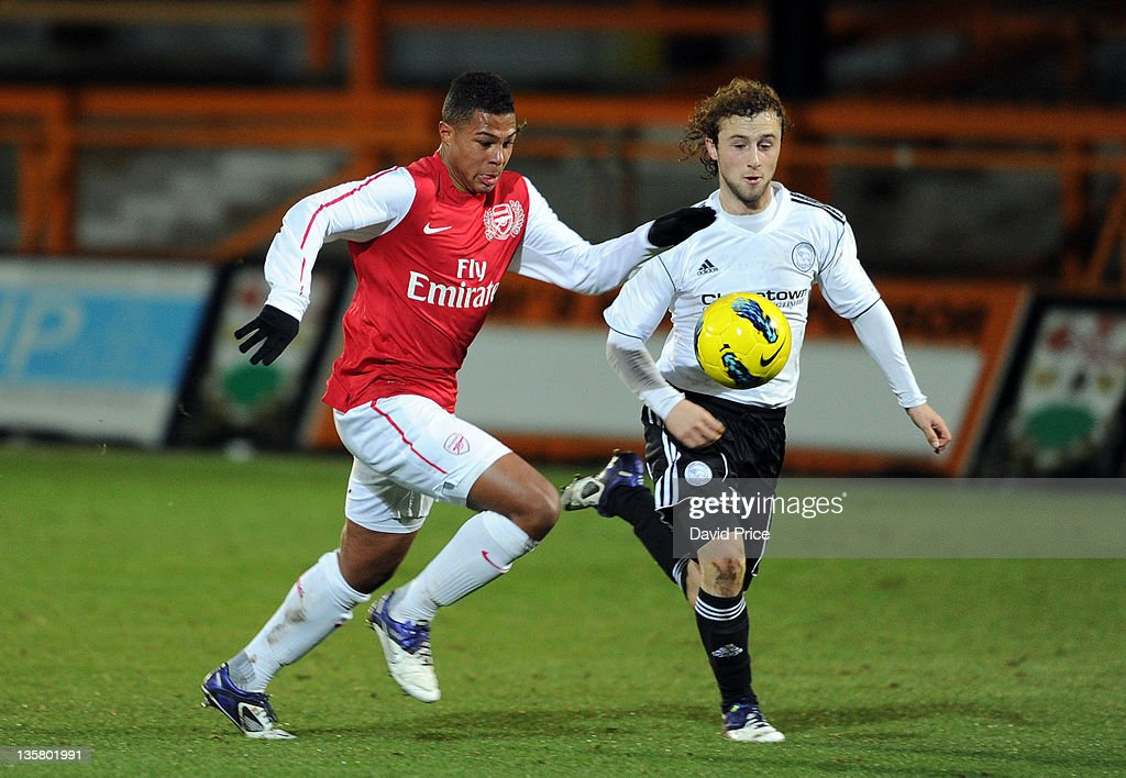 Arsenal v Derby County - FA Youth Cup 3rd Round : News Photo
