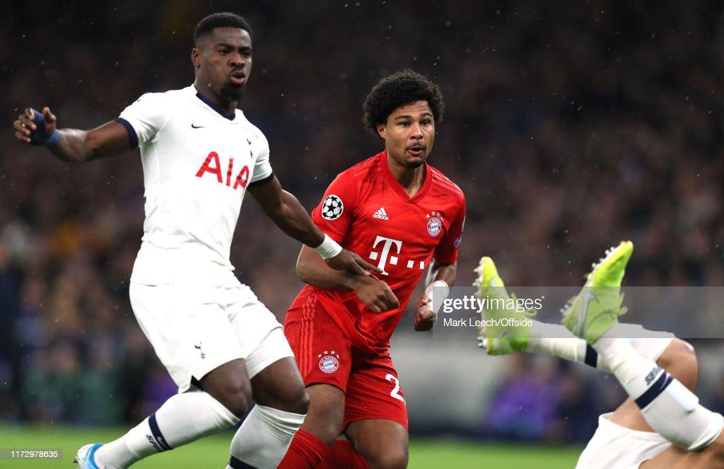 Tottenham Hotspur v Bayern Muenchen: Group B - UEFA Champions League : Foto jornalística