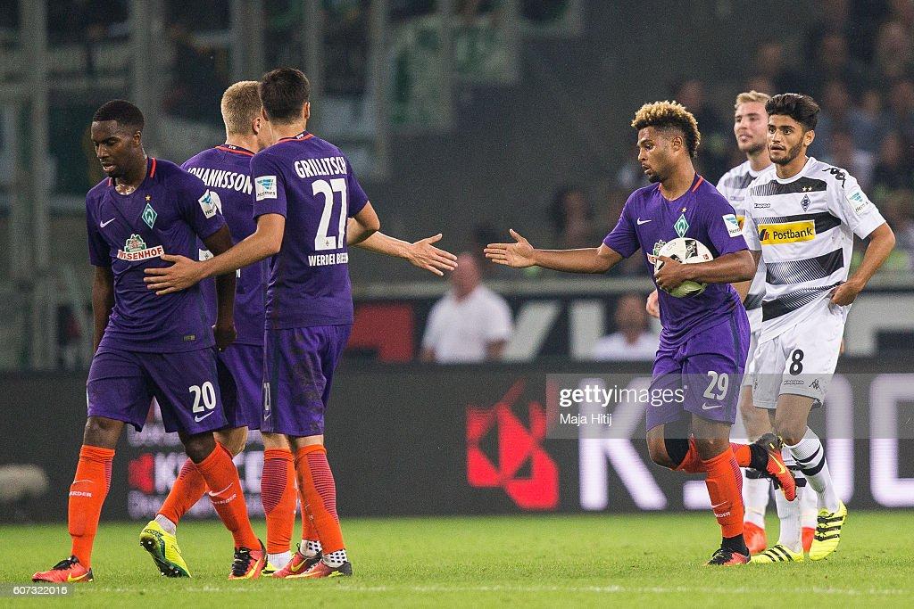 Borussia Moenchengladbach v Werder Bremen - Bundesliga : News Photo