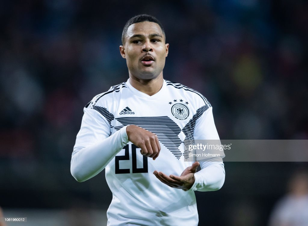 Serge Gnabry Of Germany Celebrates His Team S Third Goal During The