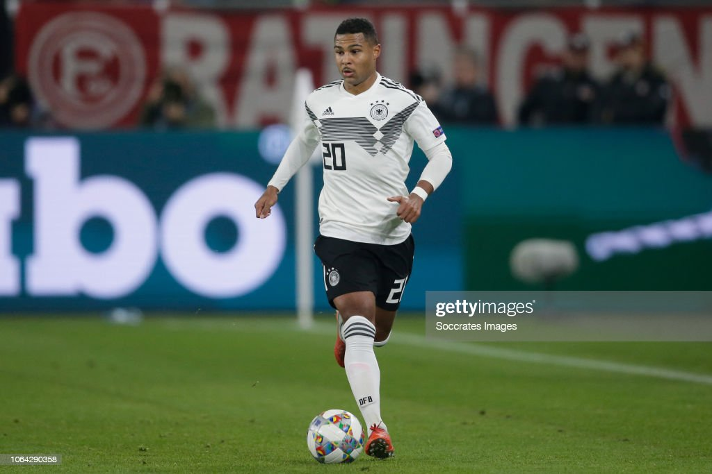 Serge Gnabry Of Germany During The Uefa Nations League Match Between