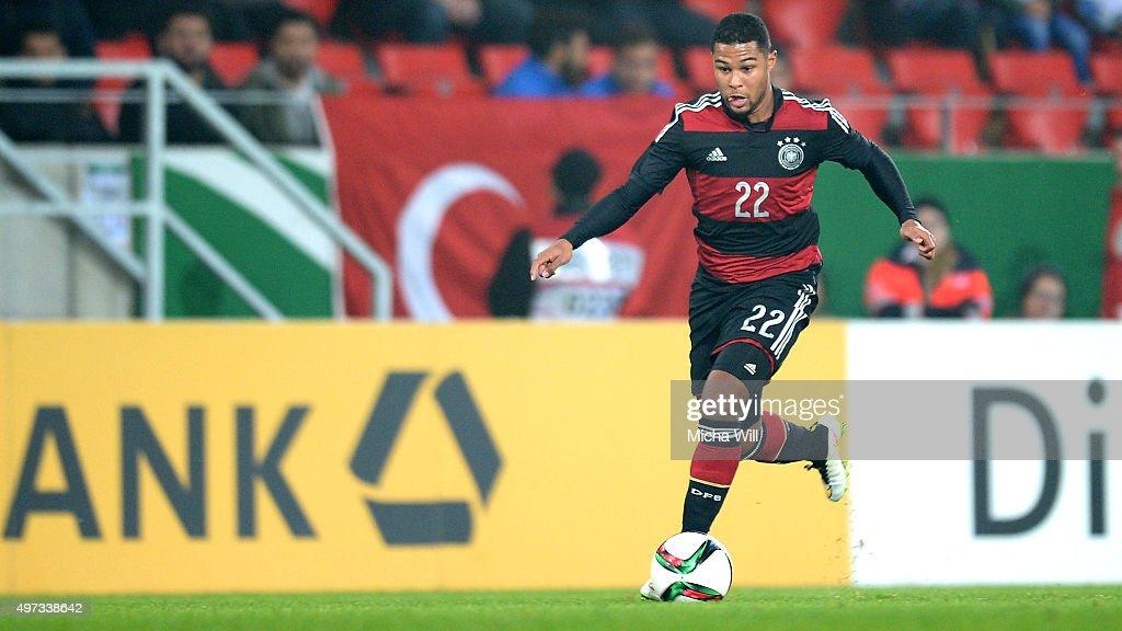 Germany U21 v Azerbaijan U21 - 2017 UEFA European U21 Championships Qualifier : News Photo
