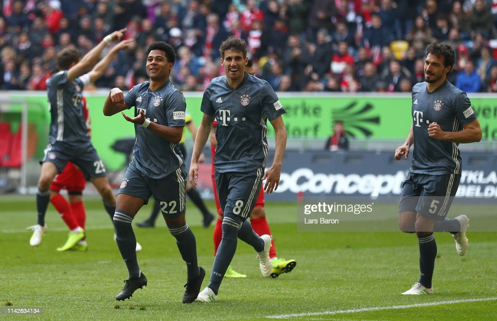 DEU: Fortuna Duesseldorf v FC Bayern Muenchen - Bundesliga