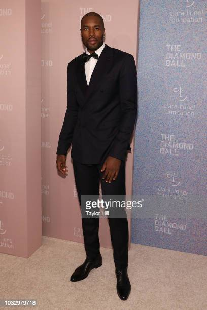 Serge Ibaka attends the 2018 Diamond Ball at Cipriani Wall Street on September 13 2018 in New York City