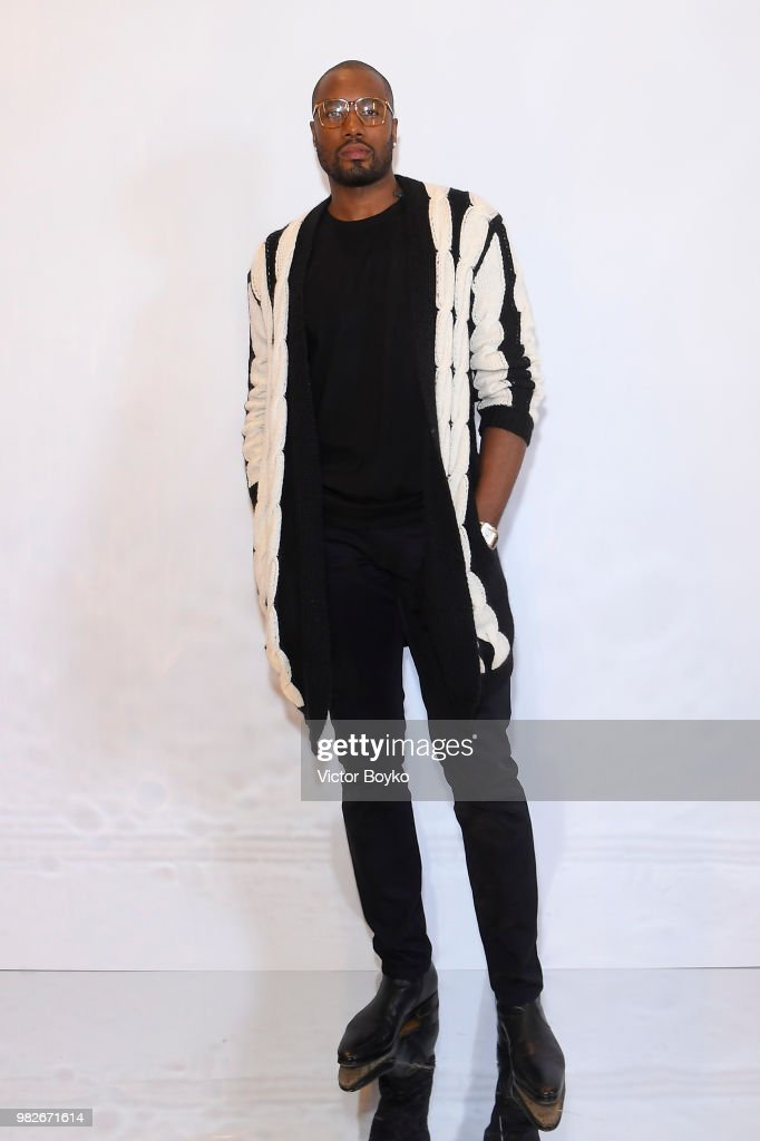Balmain: Arrivals - Paris Fashion Week - Menswear Spring/Summer 2019