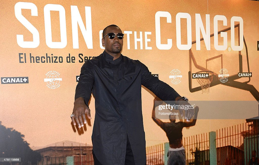'Son of the Congo. El hechizo de Serge Ibaka' Documentary Presentation : News Photo