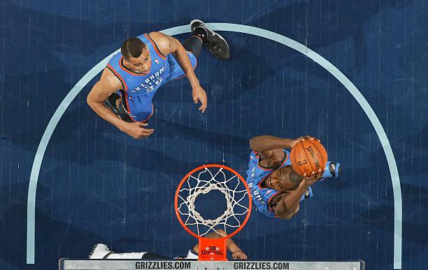 Serge Ibaka of the Oklahoma City Thunder