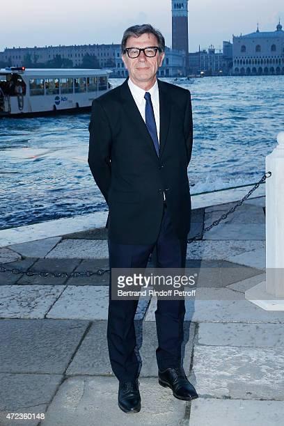 Serge Lasvignes attends the Dinner At 'Fondazione Cini Isola Di San Giorgio' 2015 Venice Biennale on May 6 2015 in Venice Italy