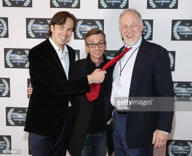 Serge Levin Charles Baker Todd Lewis attend the World Premiere of ALTERSCAPE directed by Serge Levin at The Philip K Dick Science Fiction Film...