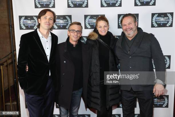Serge Levin Charles Baker Wendy Van Patten Olan Montgomery attend the World Premiere of ALTERSCAPE directed by Serge Levin at The Philip K Dick...