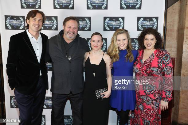 Serge Levin Olan Montgomery Alissa Arnold Karen Frances Hanna Edwards attend the World Premiere of ALTERSCAPE directed by Serge Levin at The Philip K...
