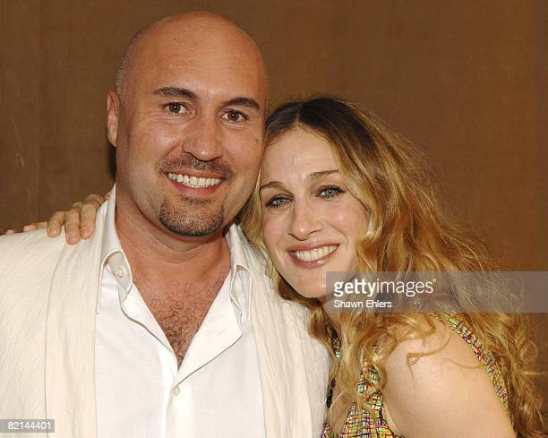 Serge Normant and Sarah Jessica Parker