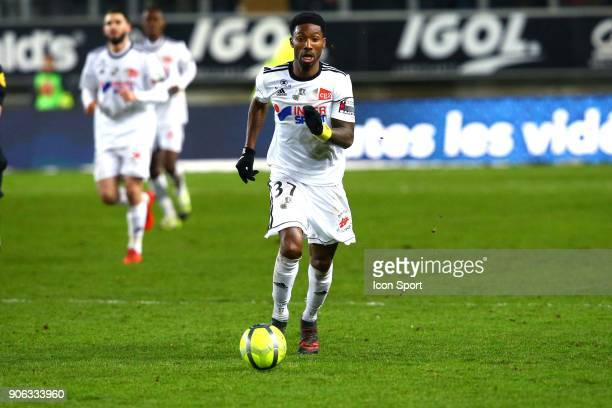 Serge of Amiens during the Ligue 1 match between Amiens SC and Montpellier Herault SC at Stade de la Licorne on January 17 2018 in Amiens