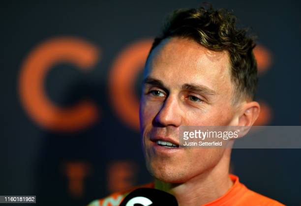 Serge Pauwels of Belgium and CCC Team / during the 106th Tour de France 2019 - CCC Team Press Conferences / TDF / #TDF2019 / @LeTour / on July 05,...