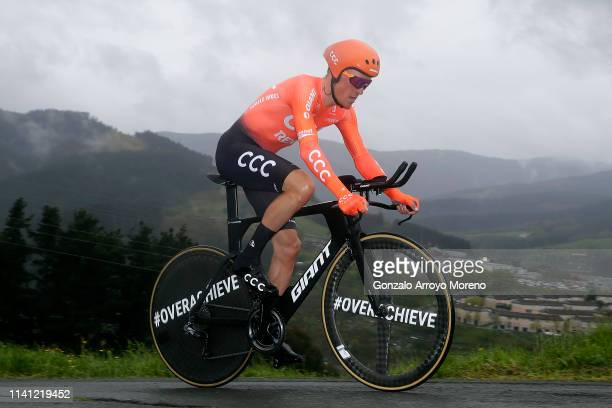 Serge Pauwels of Belgium and CCC Team / during the 59th Itzulia-Vuelta Ciclista Pais Vasco 2019, Stage 1 a 11,2km Individual Time Trial stage from...
