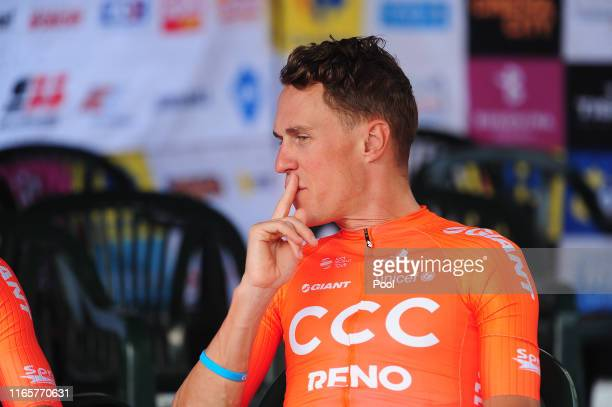 Serge Pauwels of Belgium and CCC Team / during the 76th Tour of Poland 2019 - Team Presentation / Rynek - Krakow Main Market Square / #TDP19 /...