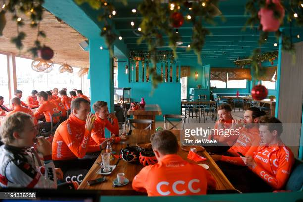 Serge Pauwels of Belgium and CCC Team / Georg Zimmermann of Germany and CCC Team / Jonas Koch of Germany and CCC Team / Will Barta of The United...