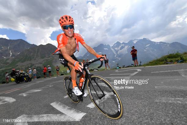 Serge Pauwels of Belgium and CCC Team / Mountains / Galibier / during the 106th Tour de France 2019, Stage 18 a 208km stage from Embrun to Valloire...
