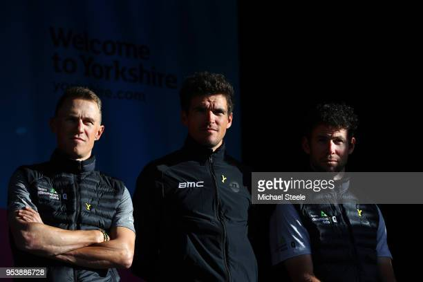 Serge Pauwels of Belgium and Team Dimension Data / Greg Van Avermaet of Belgium and BMC Racing Team / Mark Cavendish of Great Britain and Team...