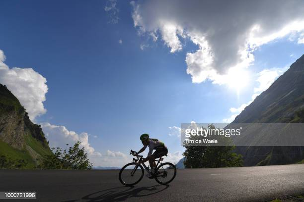Serge Pauwels of Belgium and Team Dimension Data / Silhouet / Col de La Colombière / Landscape / Mountains / during the 105th Tour de France 2018 /...