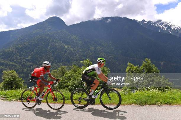 Serge Pauwels of Belgium and Team Dimension Data / Tsgabu Grmay of Ethiopia and Team Trek Segafredo / during the 70th Criterium du Dauphine 2018,...