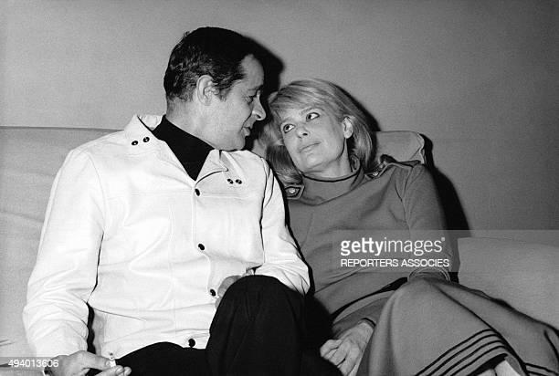 Serge Regginani et Melina Mercouri circa 1960.