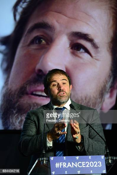serge simon vice president of the france rugby federation officially    news photo