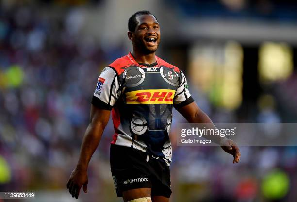 Sergeal Petersen of DHL Stormers during the Super Rugby match between DHL Stormers and Vodacom Bulls at DHL Newlands on April 27 2019 in Cape Town...