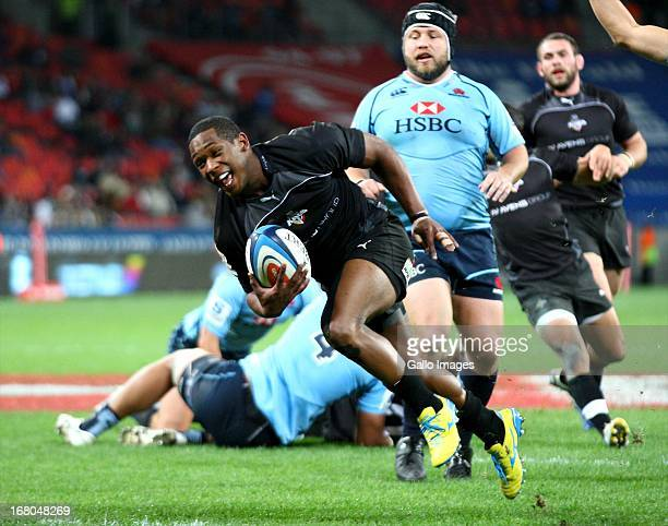 Sergeal Petersen of the Southern Kings during the Super Rugby Round 12 match between Southern Kings and Waratahs at Nelson Mandela Bay Stadium on May...