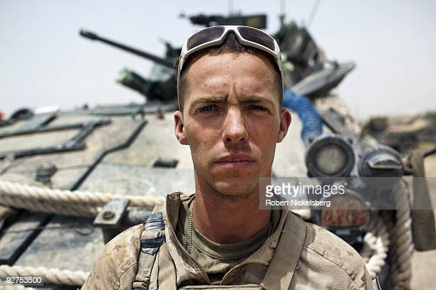 QAL'EHYENAW AFGHANISTAN AUGUST 16 Sergeant Cody Campbell 23 years from Caledonia Missouri has served in the US Marine Corps 2nd Division for 5 years...