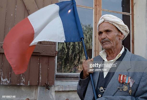 Sergeant Kader Adjere a Harki served under General De Gaulle between 1941 and 1946 and fought in the Algerian war between 1956 and 1962