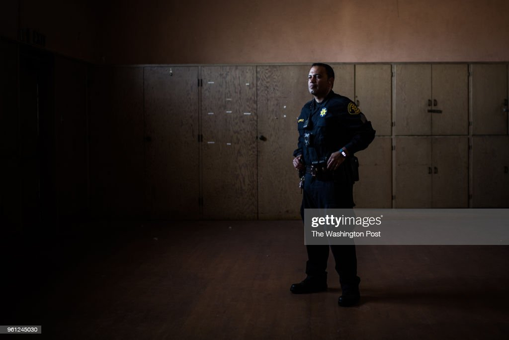 Sergeant Oscar Perez of Alameda County Sheriff's Office and
