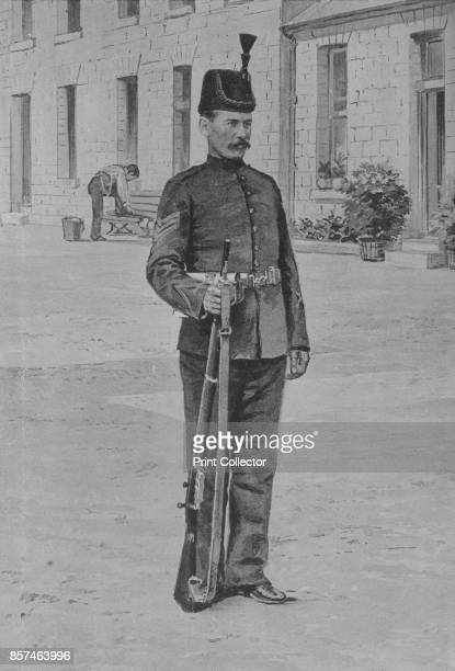 Sergeant The King's Royal Rifle Corps' circa 1880 Episode of the Second AngloAfghan War from 1878 to 1880 From British Battles on Land and Sea Vol IV...