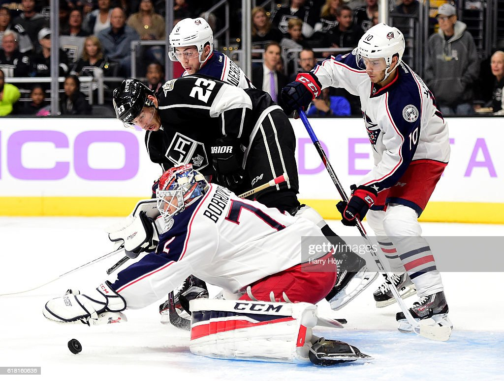 Columbus Blue Jackets v Los Angeles Kings