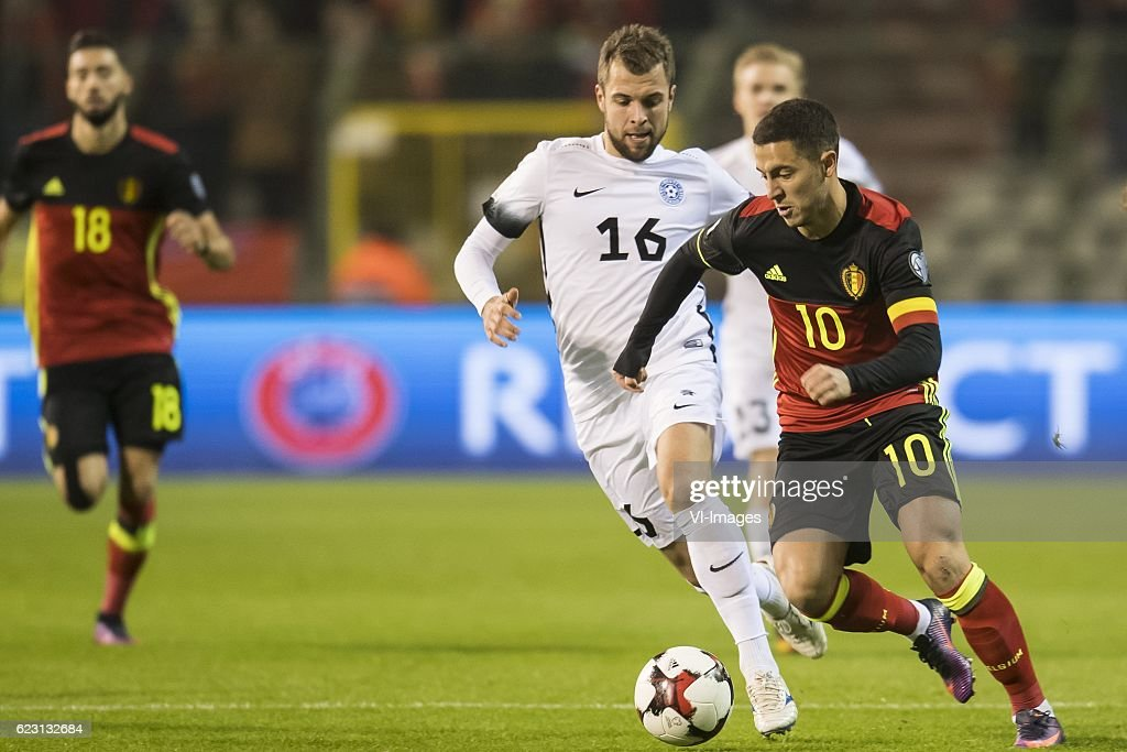 "FIFA World Cup 2018 qualifying group H""Belgium v Estonia"" : News Photo"