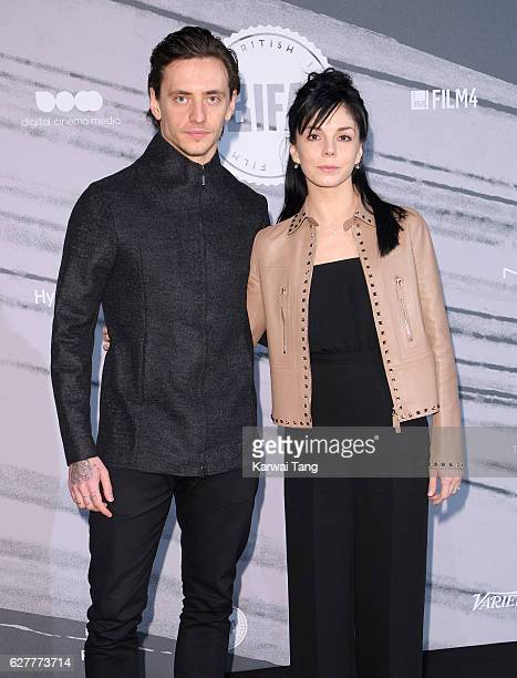 Sergei Polunin and Natalia Osipova attend The British Independent Film Awards at Old Billingsgate Market on December 4 2016 in London England