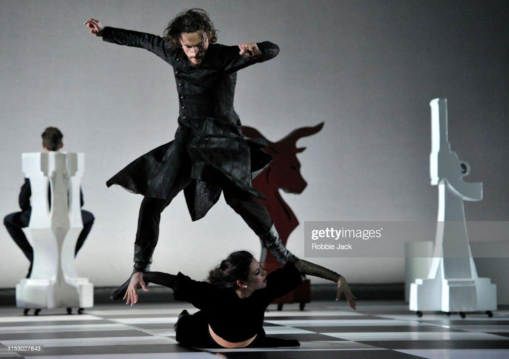 The World Premiere Of Otto Bubenicek's 'Rasputin' At The London Palladium : News Photo