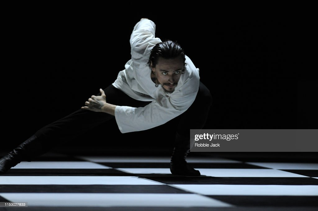 The World Premiere Of Otto Bubenicek's 'Rasputin' At The London Palladium : News Photo