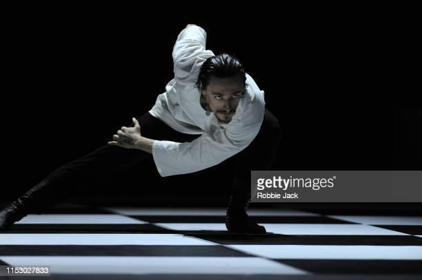Sergei Polunin as Grigori Rasputin in Yuka Oishi's Rasputin music by Kirill Richter, set design by Otto Bubenicek, costume by Ulayana Sergeenko and...