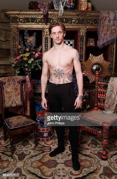 Sergei Polunin at the gala dinner during #BoFVOICES on December 1 2017 in Oxfordshire England