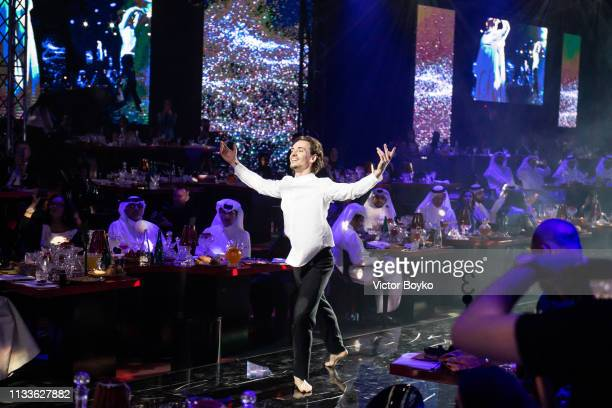 Sergei Polunin attends the Love Ball in aid of the Naked Heart Foundation and Al Shafallah at Museum of Islamic Art on March 29 2019 in Doha Qatar