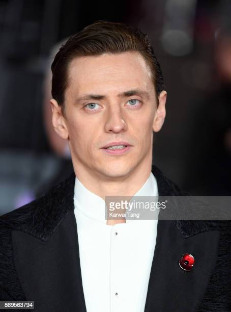 Sergei Polunin attends the 'Murder On The Orient Express' World Premiere at Royal Albert Hall on November 2 2017 in London England