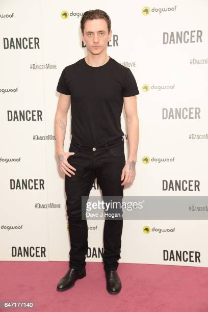 Sergei Polunin attends the premiere of 'Dancer' on March 2 2017 in London England