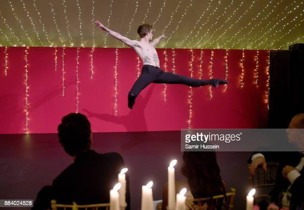Sergei Polunin performs at the gala dinner during #BoFVOICES on December 1 2017 in Oxfordshire England