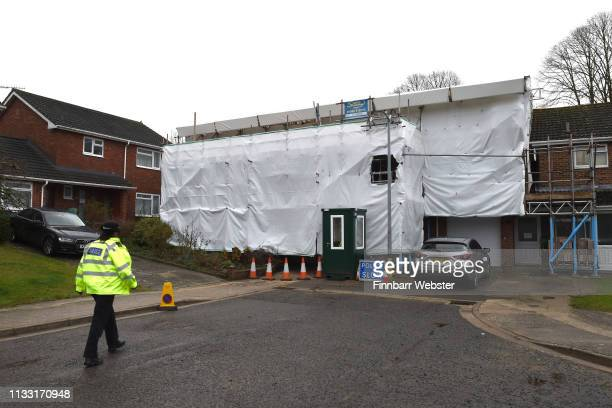 Sergei Skripal's home on March 02, 2019 in Salisbury, England. On March 4th 2018, a Russian double agent who had been living in Salisbury after...