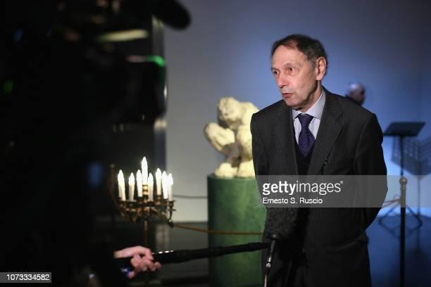 Sergej Androsov attends Fondazione Alda Fendi Esperimenti L'Adolescente by Michelangelo from The State Hermitage Museum on December 14 2018 in Rome...