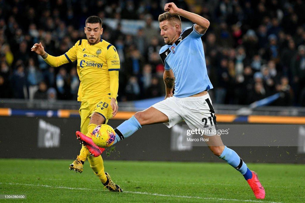 SS Lazio v Hellas Verona - Serie A : ニュース写真