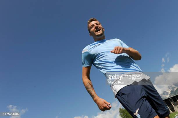 Sergej Milinkovic Savic of SS Lazio during the SS Lazio PreSeason Training Camp on July 18 2017 in Pieve di Cadore Italy