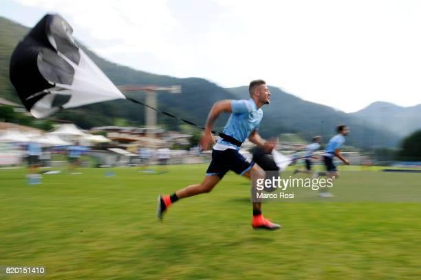 Sergej Milinkovic Savic of SS Lazio during the SS Lazio PreSeason Training Camp on July 21 2017 in Pieve di Cadore Italy