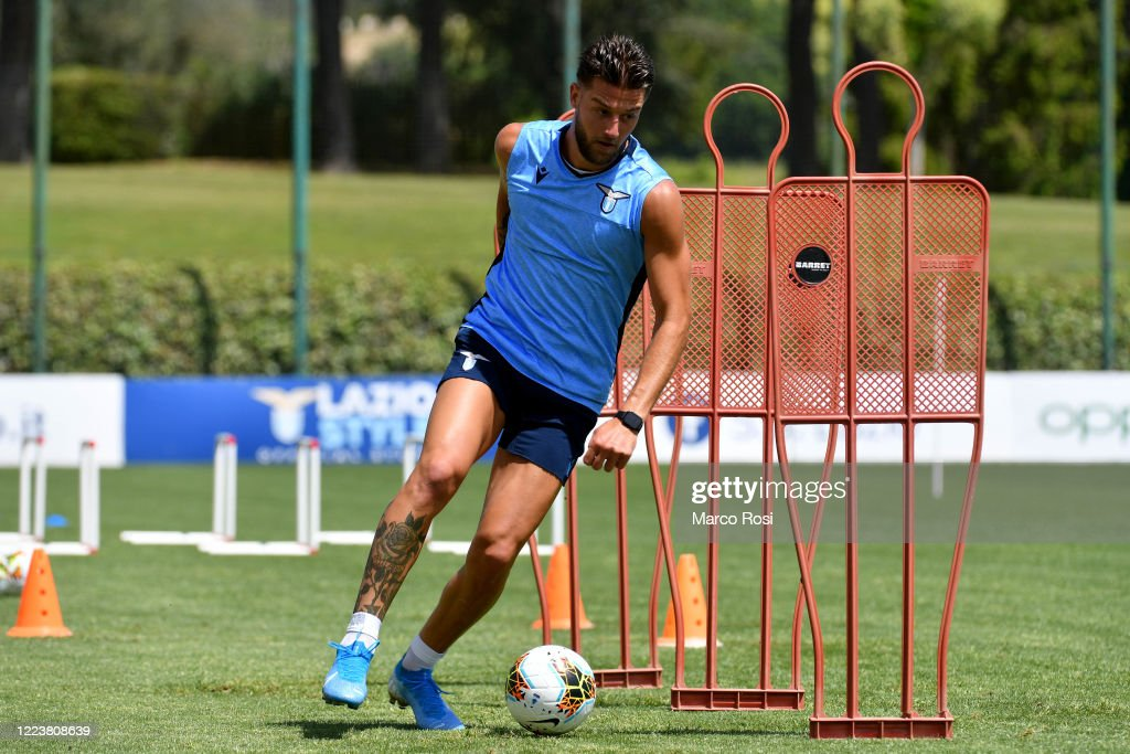 SS Lazio Training Session : News Photo
